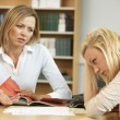College tutor with student — Stock Photo #61031121