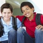 Boys at school — Stock Photo #61031957