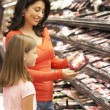 Mother and daughter shopping — Stock Photo #61032579