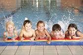 Little Children in pool — Stock Photo