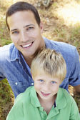 Father with son — Stock Photo