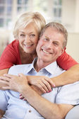 Retired couple — Stock Photo