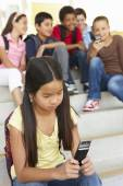 Girl being bullied — Stock Photo