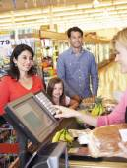 People at supermarket — Foto de Stock