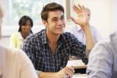 Student in class — Stock Photo