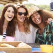 Female Friends Taking Selfie — Stock Photo #64583819