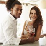 Young Couple Enjoying Drink — Stock Photo #64584447