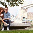 Couple by Tower Bridge — Stock Photo #68249359