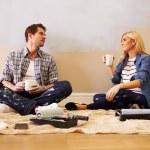 Expectant Couple Taking A Break — Stock Photo #68249769