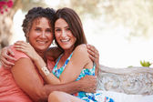Mother With Adult Daughter — Stock Photo