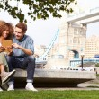 Couple by Tower Bridge — Stock Photo #68250737