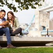 Couple by Tower Bridge — Stock Photo #68250819