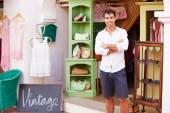Male Owner Of Fashion Store — Stock Photo