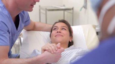 Woman Undergoing IVF Treatment — Stock Video