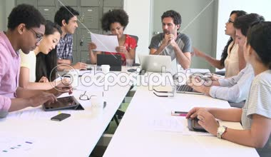 Designers Meeting To Discuss New Ideas — Stock Video