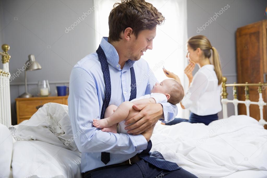 С маленьким ребенком работа