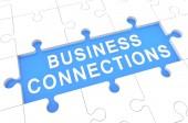 Conexiones de negocios — Foto de Stock