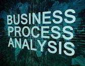 Business Process Analysis — Stockfoto