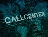 Callcenter — Stock Photo