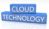 Tecnología cloud — Foto de Stock