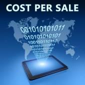 стоимость на продажу — Стоковое фото