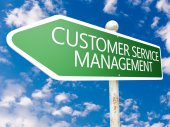 Customer Service Management — Stock Photo