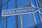 Marketing globale — Foto Stock