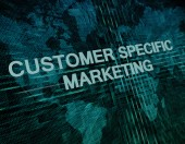 Customer Specific Marketing — Stock Photo