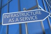 Infrastructure as a Service — Stockfoto