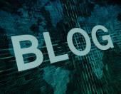 Blog Concept — Zdjęcie stockowe