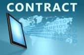 Contract — Stock fotografie