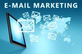 E-Mail Marketing — Stock Photo