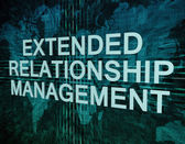Extended Relationship Management — Stock Photo