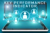 Indicador clave de rendimiento — Foto de Stock