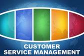 Gestão de serviço ao cliente — Fotografia Stock