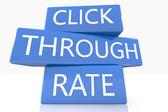 Click Through Rate — Stock Photo