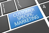 Customer Specific Marketing — Stock Photo