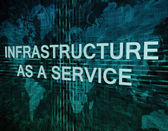 Infrastructure as a Service — Stock fotografie
