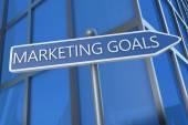 Marketing Goals — Stock Photo