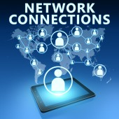 Network Connections — Stock Photo