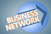 Business Network — Stockfoto