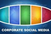 Corporate-social-media — Stockfoto