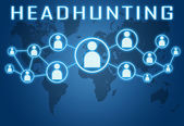 Headhunting — Stock Photo