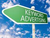 Keyword-advertising — Stockfoto