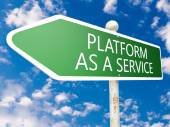 Platform as a Service — Stock Photo
