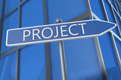 Projekt — Stockfoto