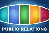 Public Relations — Stockfoto