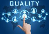 Qualität — Stockfoto