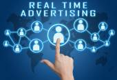Real Time Advertising — Foto de Stock