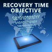 Objetivo de tempo de recuperação — Foto Stock